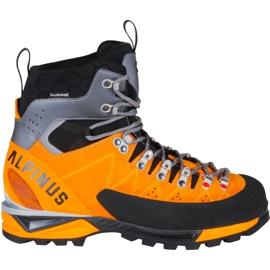 Buty wysokogórskie Alpinus The Ridge High Pro pomarańczowo-czarne GR43281 pomarańczowe