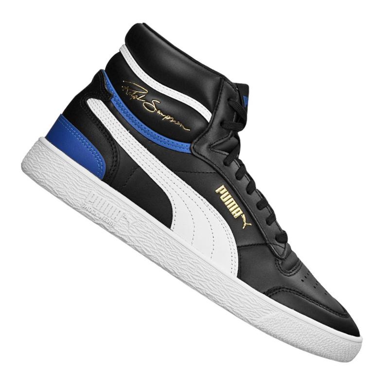 Buty do koszykówki Puma Ralph Sampson Mid M 370847-17 czarne