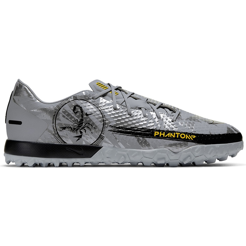 Buty piłkarskie Nike Phantom Gt Scorpion Academy Dynamic Fit Tf DA2263 001 srebrny srebrny