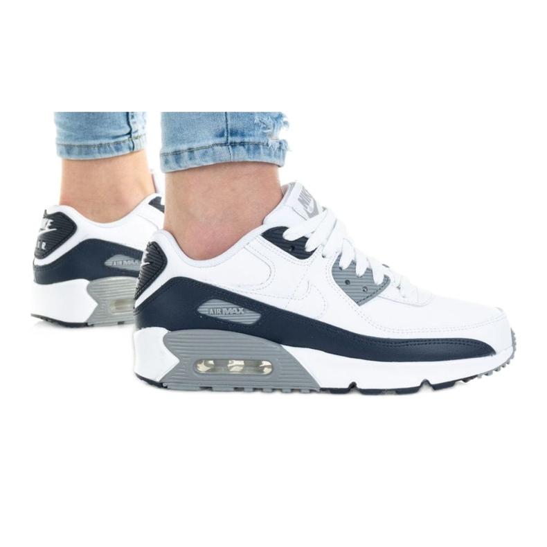 Buty Nike Air Max 90 Ktr Gs Jr CD6864-105 białe