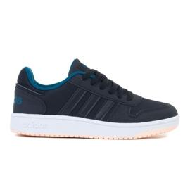 Buty adidas Hoops 2.0 K EE6718 czarne zielone