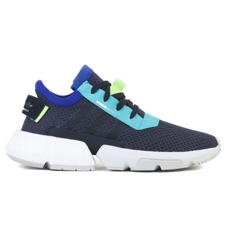 Buty adidas POD-S3.1 Jr EE6751 czarne zielone