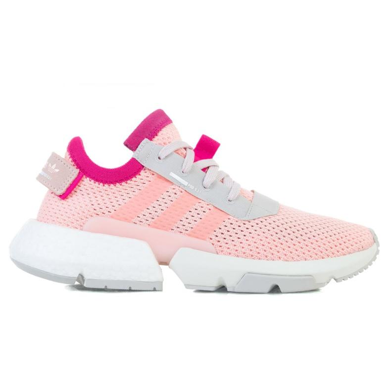 Buty adidas POD-S3.1 Jr EE8715 różowe zielone