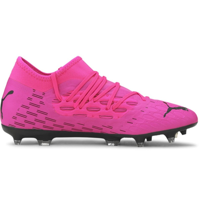Buty piłkarskie Puma Future 6.3 Netfit FG/AG M 106189 03 fioletowe wielokolorowe