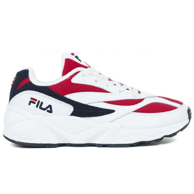 Buty Fila V94M Low W 1010291-150 białe czarne czerwone