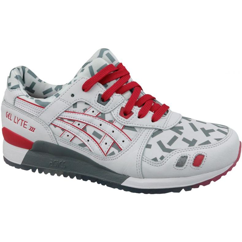 Buty Asics Gel-Lyte III U 1191A251-100 białe czerwone szare