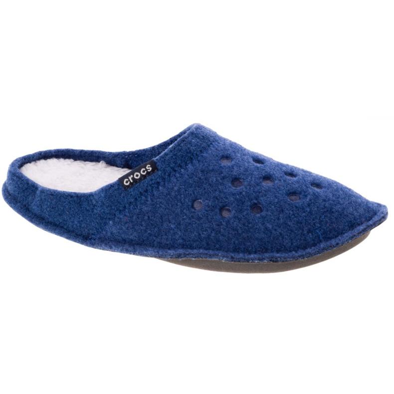Kapcie Crocs Classic Slipper 203600-4GD niebieskie