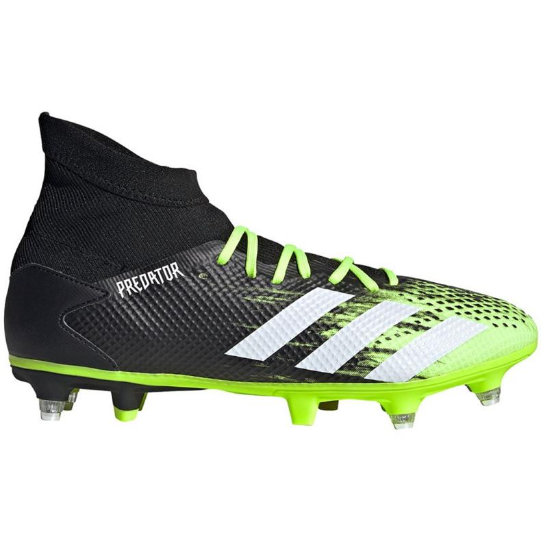 Buty piłkarskie adidas Predator 20.3 Sg M EH2904 czarne wielokolorowe