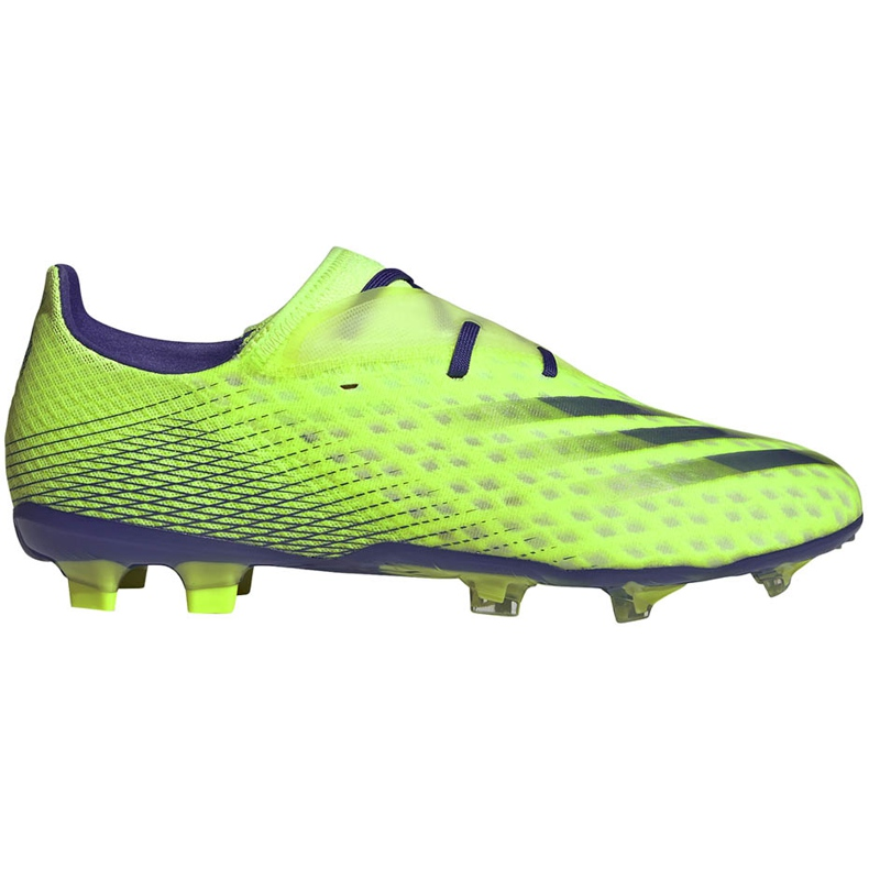 Buty piłkarskie adidas X Ghosted.2 Fg zielone EG8187