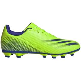 Buty piłkarskie adidas X Ghosted.4 FxG zielone EG8194
