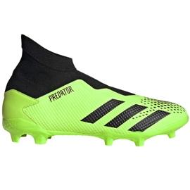 Buty piłkarskie adidas Predator 20.3 Ll Fg zielono-czarne EH2929 zielone zielone