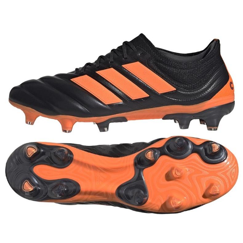 Buty piłkarskie adidas Copa 20.1 Fg M EH0882 wielokolorowe czarne