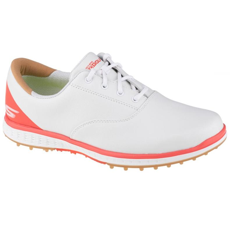 Buty Skechers Go Golf Elite 2 W 14866-WCRL białe pomarańczowe