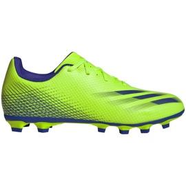 Buty piłkarskie adidas X Ghosted.4 FxG M EG8194 zielone zielone