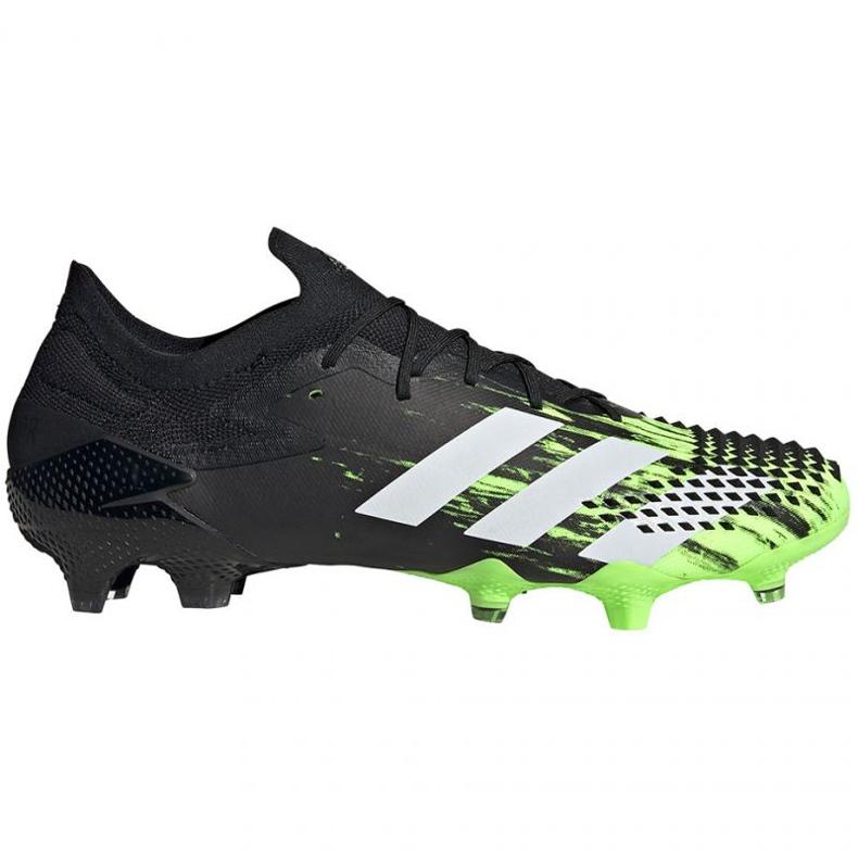 Buty piłkarskie adidas Predator Mutator 20.1 L Fg M EH2885 wielokolorowe czarne