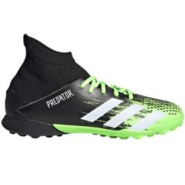 Buty piłkarskie adidas Predator 20.3 Tf Jr EH3034 wielokolorowe czarne