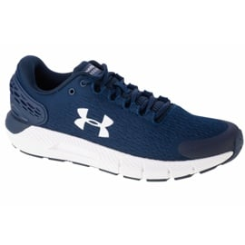 Buty Under Armour Charged Rogue 2 M 3022592-403 białe granatowe