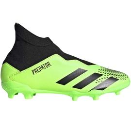 Buty piłkarskie adidas Predator 20.3 Ll Fg Junior EH3019 wielokolorowe zielone