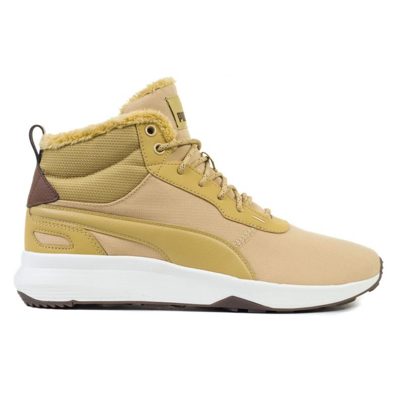 Buty Puma St Activate Mid Wtr M 369784 02 beżowy brązowe żółte