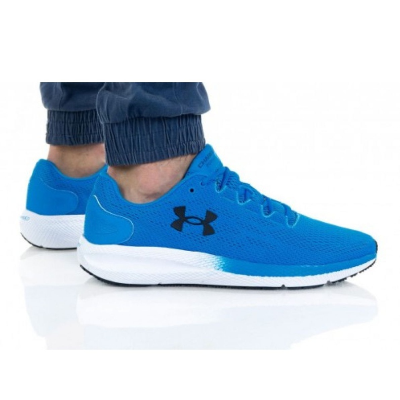 Buty Under Armour Charged Pursuit 2 M 3022594-402 niebieskie