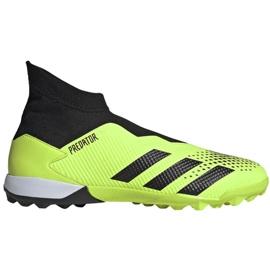 Buty piłkarskie adidas Predator 20.3 Ll Tf M EH2916 wielokolorowe zielone