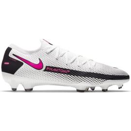 Buty piłkarskie Nike Phantom Gt Pro Fg CK8451 160 białe szare