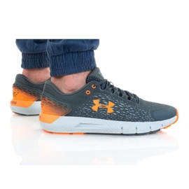 Buty Under Armour Charged Rouge 2 M 3022592-105 pomarańczowe szare
