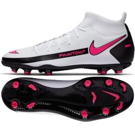 Buty piłkarskie Nike Phantom Gt Club Df FG/MG CW6672 160 białe białe
