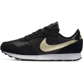 Buty Nike Md Valiant Jr CN8558 009 czarne granatowe