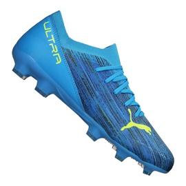 Buty piłkarskie Puma Ultra 3.2 Fg / Ag M 106300-01 niebieskie niebieskie