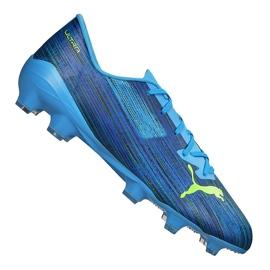 Buty piłkarskie Puma Ultra 2.2 Fg / Ag M 106343-01 niebieskie wielokolorowe