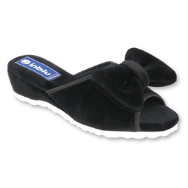 Befado Inblu obuwie damskie  155D117 czarne