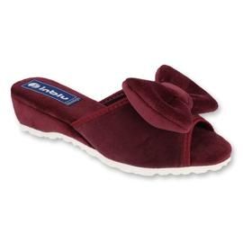 Befado Inblu obuwie damskie  155D119 czerwone