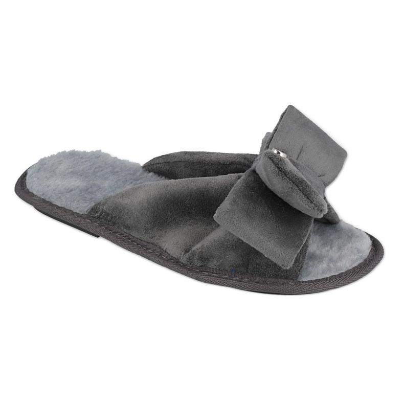 Befado Inblu obuwie damskie  155D111 szare