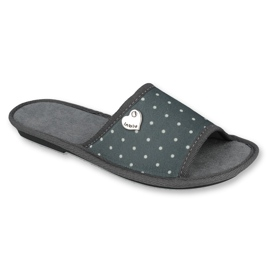 Befado Inblu obuwie damskie  155D105 szare