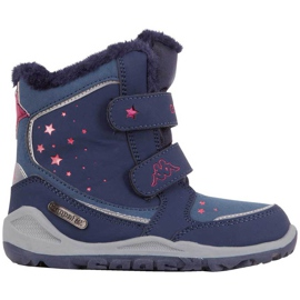 Buty dla dzieci Kappa Cui Tex granatowo-różowe 260823K 6722 granatowe