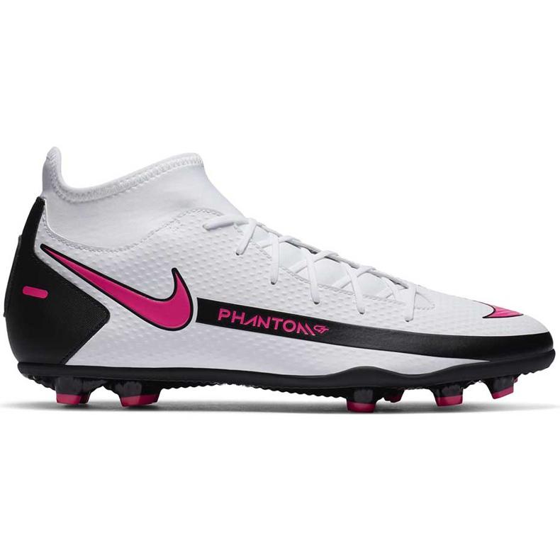 Buty piłkarskie Nike Phantom Gt Club Df FG/MG CW6672 160 białe