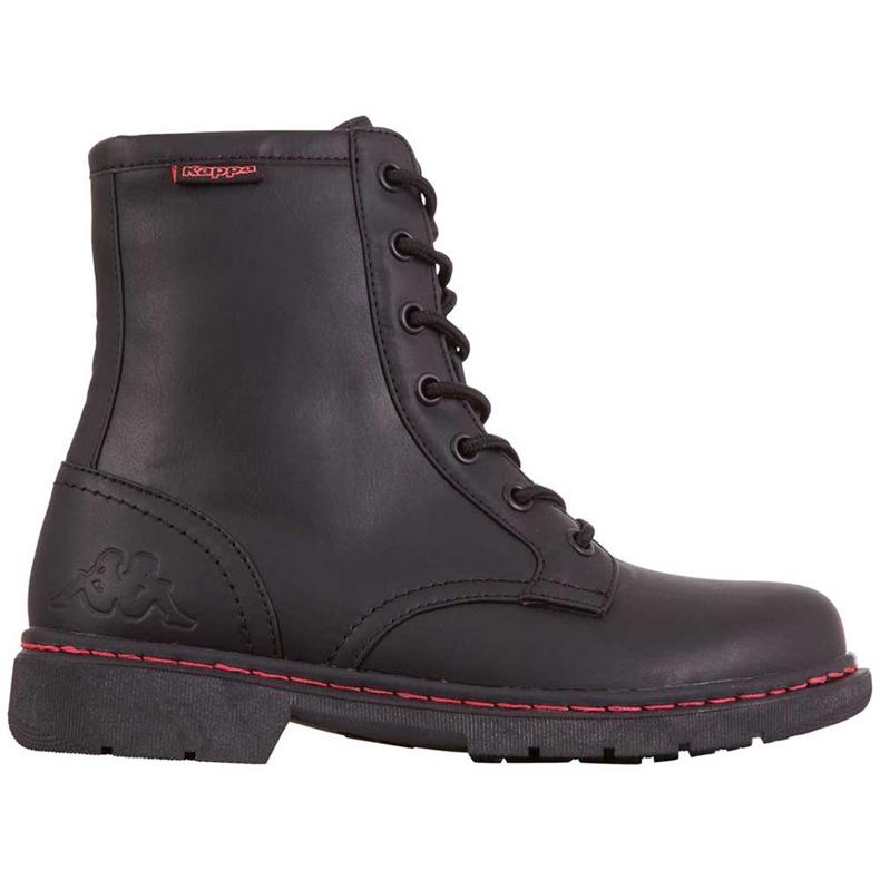 Buty damskie Kappa Deenish czarno-różowe 242885 1122 czarne