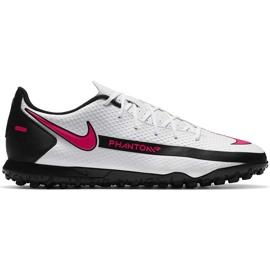 Buty piłkarskie Nike Phantom Gt Club Tf CK8469 160 białe