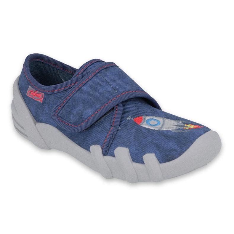 Befado obuwie dziecięce 273X302 niebieskie szare