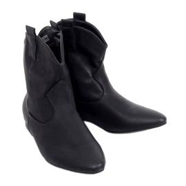 Saszki damskie licowe czarne NC1058 Black
