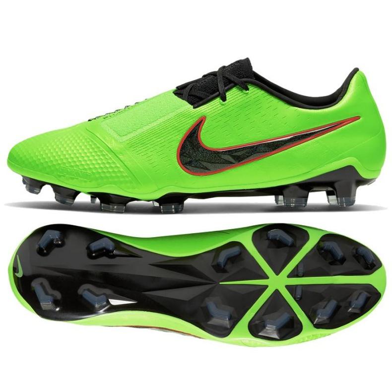 Buty piłkarskie Nike Phantom Venom Elite Fg M AO7540 306 zielone wielokolorowe