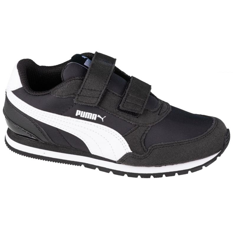 Buty Puma St Runner V2 Nl Ps Jr 365294 01 czarne różowe