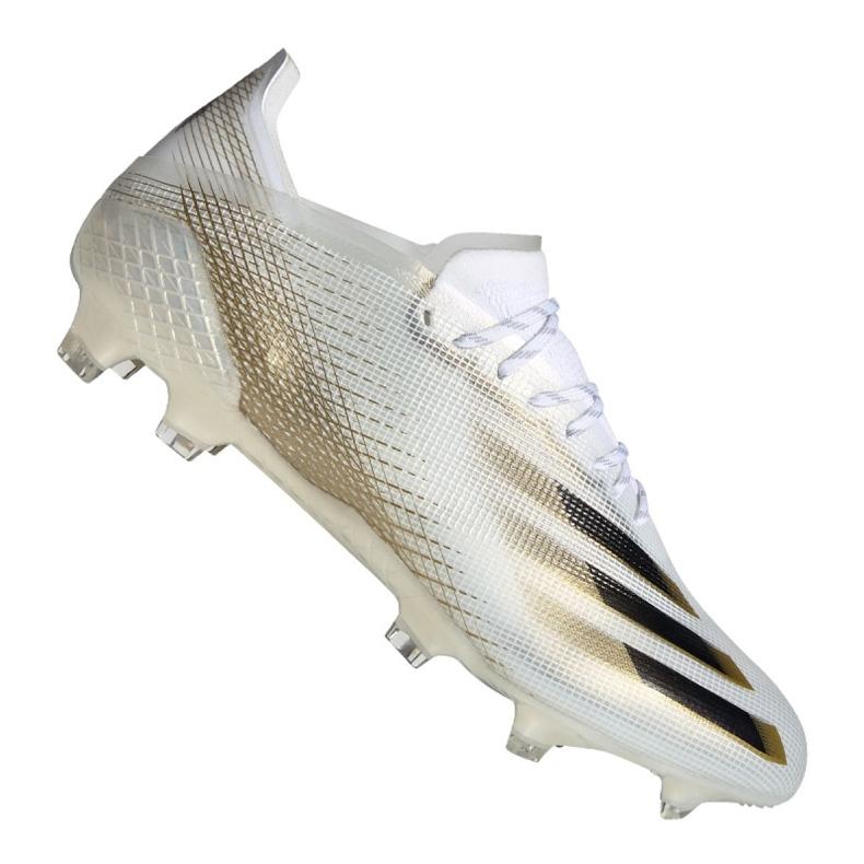 Buty piłkarskie adidas X Ghosted.1 Fg M EG8258 wielokolorowe białe