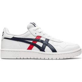 Buty dla dzieci Asics Japan S Gs białe 1194A076 103 czarne czerwone