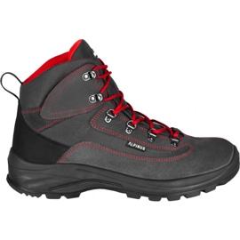 Buty trekkingowe Alpinus Brahmatal High Active GR43321 czarne czerwone szare