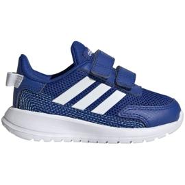 Buty adidas Tensaur Run Jr EG4140 granatowe niebieskie