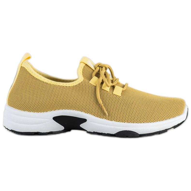 Kylie Klasyczne Buty Sportowe żółte