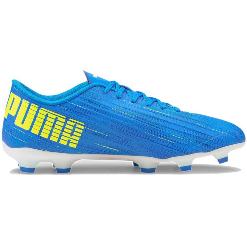 Buty piłkarskie Puma Ultra 4.2 Fg Ag M 106354 01 niebieskie niebieskie