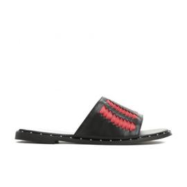 Vices 3208-19 Red 36 41 czarne czerwone